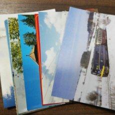 Postales: LOTE DE 20 POSTALES. TRENES LOCOMOTORAS TRANVIAS. VER FOTOS.. Lote 204984586