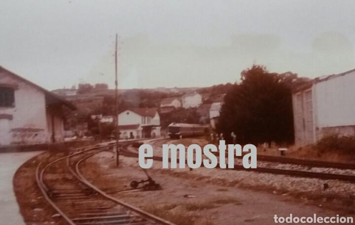 1986 BETANZOS CIDADE TER FERROL PONTEVEDRA (Postales - Postales Temáticas - Trenes y Tranvías)