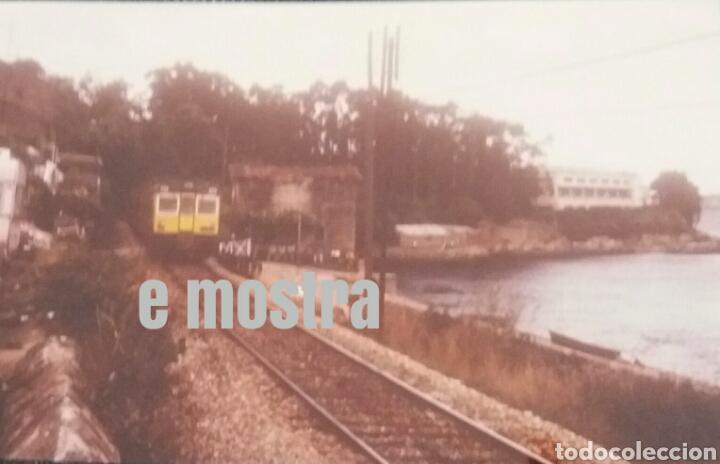 AS XUVIAS CORUÑA 1985 (Postales - Postales Temáticas - Trenes y Tranvías)
