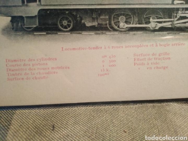 Postales: POSTAL TRENES-N°123 LES LOCOMOTIVES(ESPAGNE)CHEMINS DE FER DES MINES DE CALA,SIN CIRCULAR,SIGLO XIX, - Foto 2 - 206541522