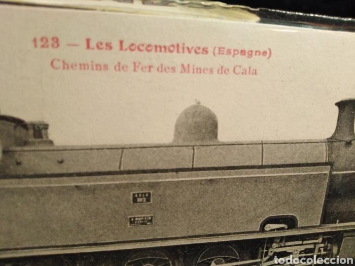 Postales: POSTAL TRENES-N°123 LES LOCOMOTIVES(ESPAGNE)CHEMINS DE FER DES MINES DE CALA,SIN CIRCULAR,SIGLO XIX, - Foto 3 - 206541522