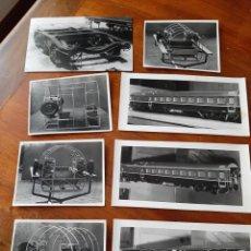 Postales: FOTOGRAFIAS TEMÁTICA TREN, MAQUETAS...AÑOS 60. GASTOS ENVIO 5 EUROS.. Lote 206816052