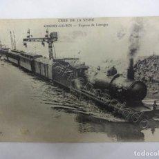 Postales: EXPRESO DE LIMOGES. INUNDACION EN CRUE DE LA SEINE. Lote 207158233