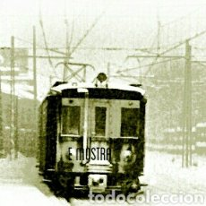Postales: UN 300 EN IA ESTACIÓN SABADELL 1962. Lote 207340750