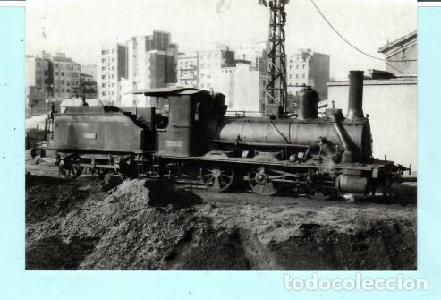 POSTAL DE LOCOMOTORA SAN ANDRÉS1965 Nº 4280 EDICION EUROFER AMIGOS FERROCARRIL SIN CIRCULADA (Postales - Postales Temáticas - Trenes y Tranvías)