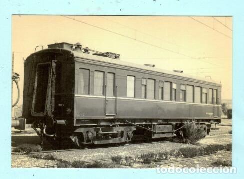 POSTAL DE COCHE PÙEBLO NUEVO Nº 4241 EDICION EUROFER AMIGOS FERROCARRIL SIN CIRCULADA (Postales - Postales Temáticas - Trenes y Tranvías)