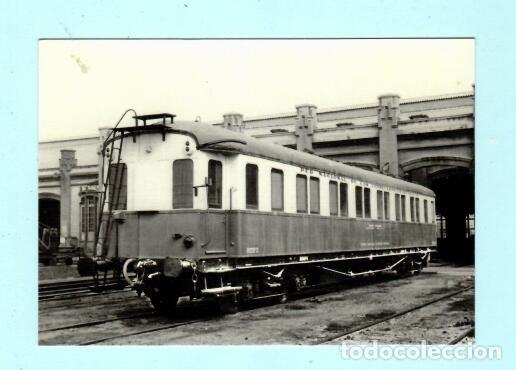 POSTAL DE COCHE PÙEBLO NUEVO Nº 4231 EDICION EUROFER AMIGOS FERROCARRIL SIN CIRCULADA (Postales - Postales Temáticas - Trenes y Tranvías)