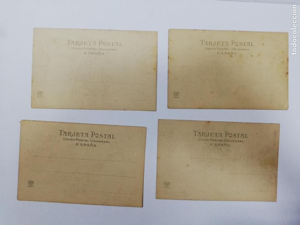 Postales: EL TREN EXPRESO. SERIE II. COMPLETA. HAUSER Y MENET. POEMA EN TRES CANTOS. D. RAMON DE CAMPOAMOR - Foto 7 - 207925167