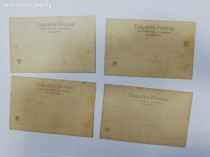 Postales: EL TREN EXPRESO. SERIE II. COMPLETA. HAUSER Y MENET. POEMA EN TRES CANTOS. D. RAMON DE CAMPOAMOR - Foto 9 - 207925167
