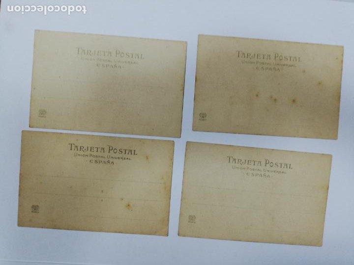 Postales: EL TREN EXPRESO. SERIE II. COMPLETA. HAUSER Y MENET. POEMA EN TRES CANTOS. D. RAMON DE CAMPOAMOR - Foto 10 - 207925167