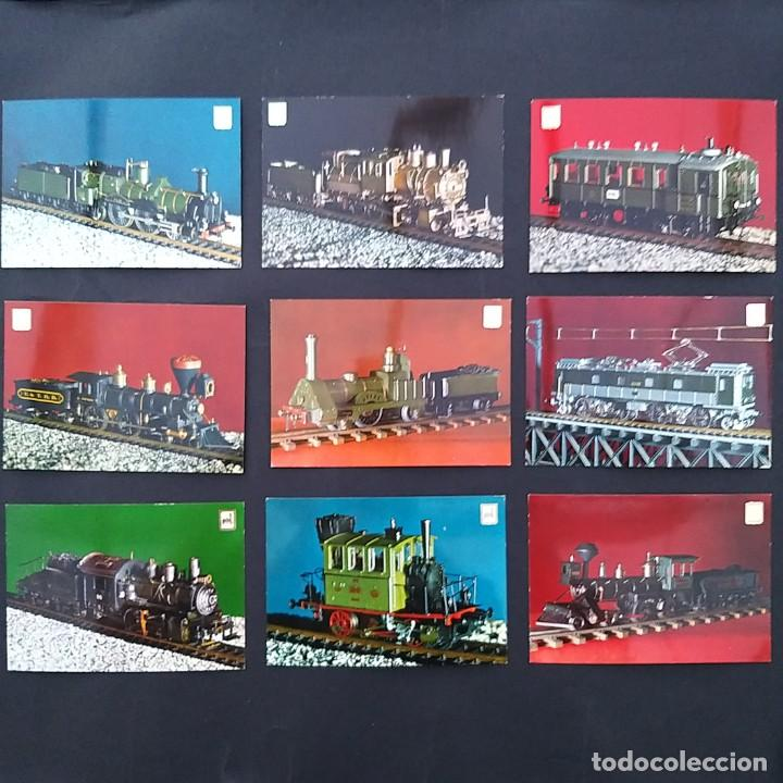 Postales: Colección particular miembros asociación modelistas ferroviarios. 20 postales locomotoras (P204) - Foto 3 - 210454392
