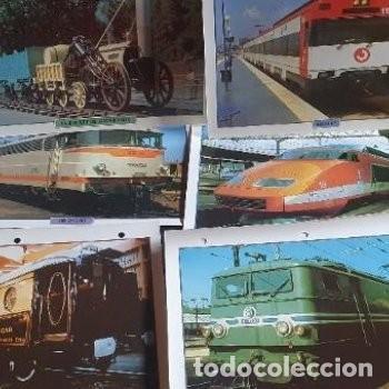 Postales: laminas fotografías maquinas trenes - Foto 3 - 211481329