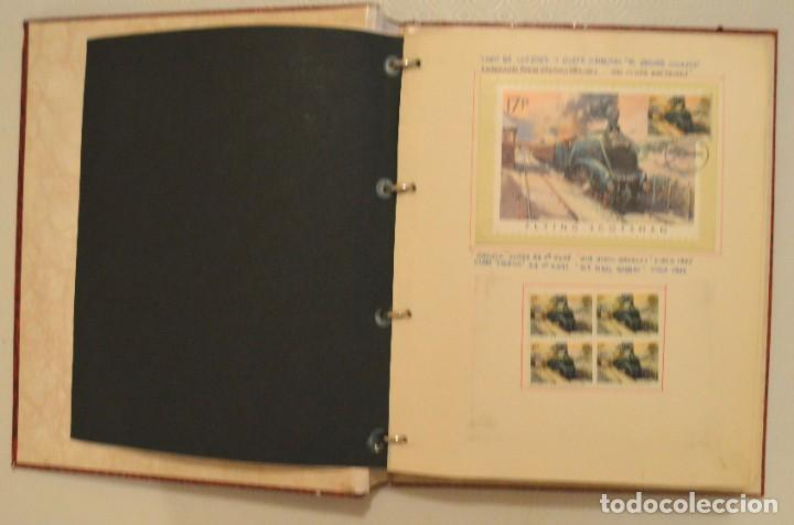 Postales: COLECCIÓN 136 POSTALES TRENES Y ENTEROS POSTALES - Foto 7 - 214076471