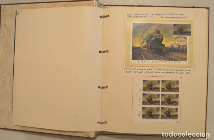 Postales: COLECCIÓN 136 POSTALES TRENES Y ENTEROS POSTALES - Foto 9 - 214076471