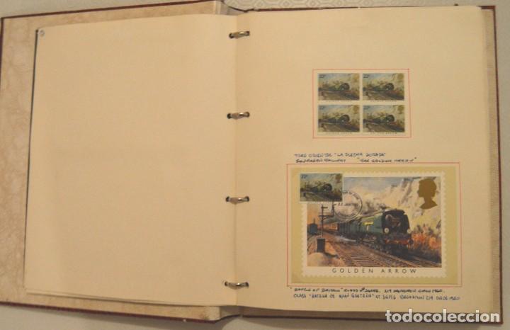 Postales: COLECCIÓN 136 POSTALES TRENES Y ENTEROS POSTALES - Foto 10 - 214076471