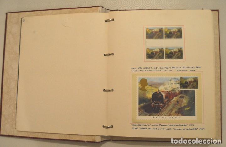 Postales: COLECCIÓN 136 POSTALES TRENES Y ENTEROS POSTALES - Foto 11 - 214076471