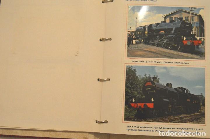 Postales: COLECCIÓN 136 POSTALES TRENES Y ENTEROS POSTALES - Foto 14 - 214076471