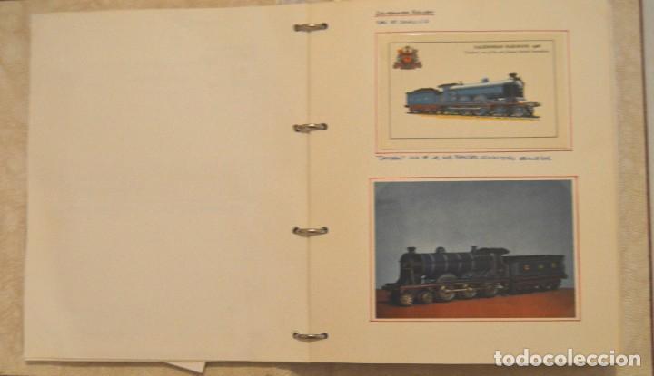 Postales: COLECCIÓN 136 POSTALES TRENES Y ENTEROS POSTALES - Foto 21 - 214076471