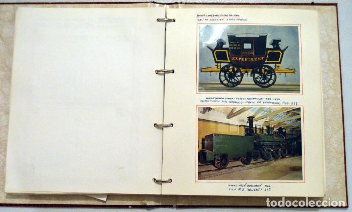 Postales: COLECCIÓN 136 POSTALES TRENES Y ENTEROS POSTALES - Foto 35 - 214076471