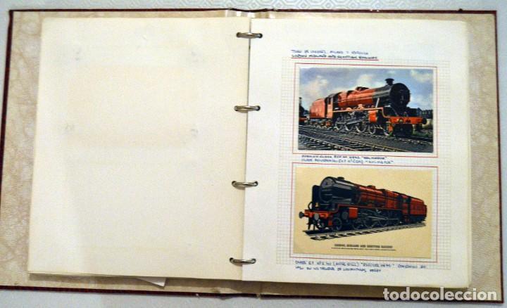 Postales: COLECCIÓN 136 POSTALES TRENES Y ENTEROS POSTALES - Foto 36 - 214076471