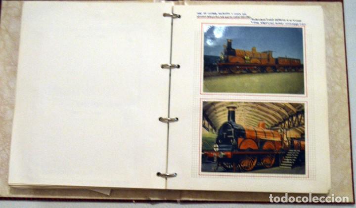 Postales: COLECCIÓN 136 POSTALES TRENES Y ENTEROS POSTALES - Foto 42 - 214076471