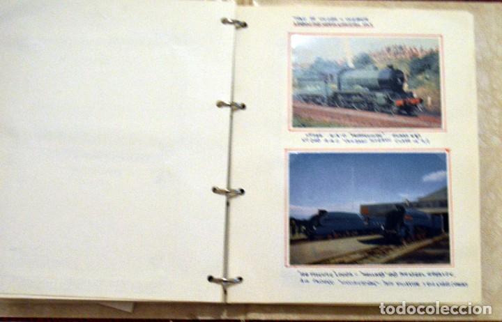 Postales: COLECCIÓN 136 POSTALES TRENES Y ENTEROS POSTALES - Foto 49 - 214076471