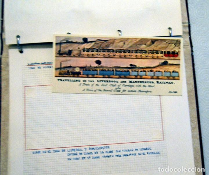 Postales: COLECCIÓN 136 POSTALES TRENES Y ENTEROS POSTALES - Foto 66 - 214076471