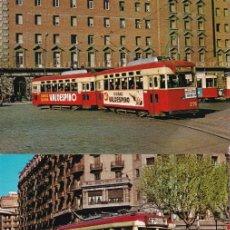 Postales: TRES TAMBIAS DE BARCELONA Nº 13 - 15 - 22 EDITO FERROVIARIES S. A. BARCELONA SIN CIRCULAR. Lote 214414251