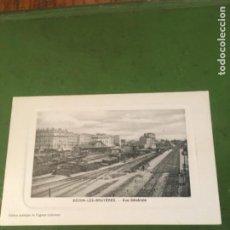 Postales: FERROCARRILES - ANTIGUA POSTAL BECON -LES -BRUYERES -VUE GENERALE -14X9 CM.. Lote 215227046