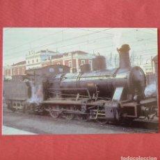 Cartoline: LOCOMOTORA DE VAPOR - MORA LA NOVA. Lote 215349483