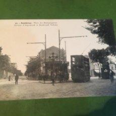 Postales: TRANVÍAS -ANTIGUA POSTAL 53 ASNIERES PLACE DES BOURGUIGNONS 14X9 CM.. Lote 215742972