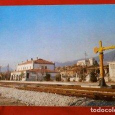 Postales: ESTACION DE MIRAFLORES - COLECCION RENFE SERIE E-27 (1978) TREN LINEA MADRID-BURGOS - TRENES. Lote 217248520