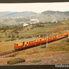 Postales: LATOUR DE CAROL- TREN SANGRE Y ORO - TRENES CIRCULANDO POR ESPAÑA - LINEA PUIGCERDA LA TOR DE QUEROL. Lote 217252303