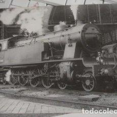 Postales: LOCOMOTORA DE VAPOR 242-0263 - CONSTRUIDA POR M.T.M EN 1926. Lote 218082017