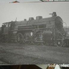 Postales: LOCOMOTORA DE VAPOR MZA Nº879 - CONSTRUIDA POR MAFFEI EN 1913. Lote 218082542