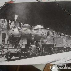 Postales: LOCOMOTORA DE VAPOR - CONSTRUIDA POR HARTMANN EN 1909-1912. Lote 218082690
