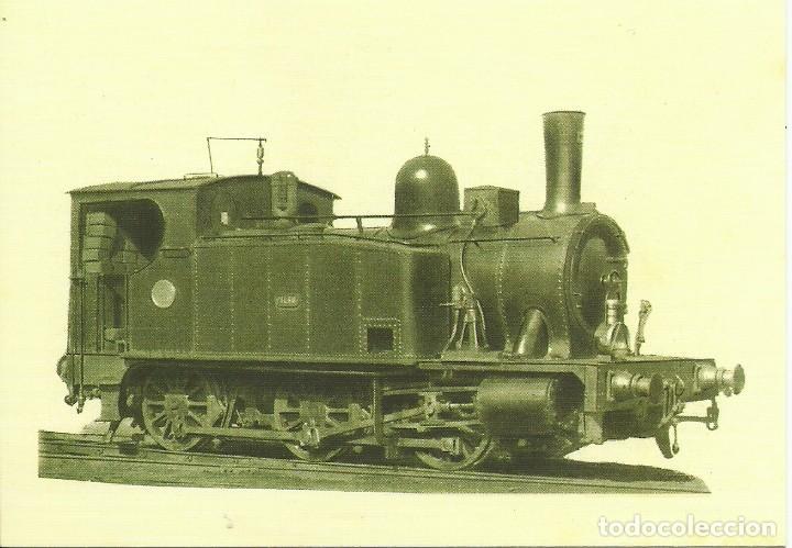 Postales: 18 postales variadas de ferrocarriles , locomotoras , estaciones , - Foto 2 - 219913526