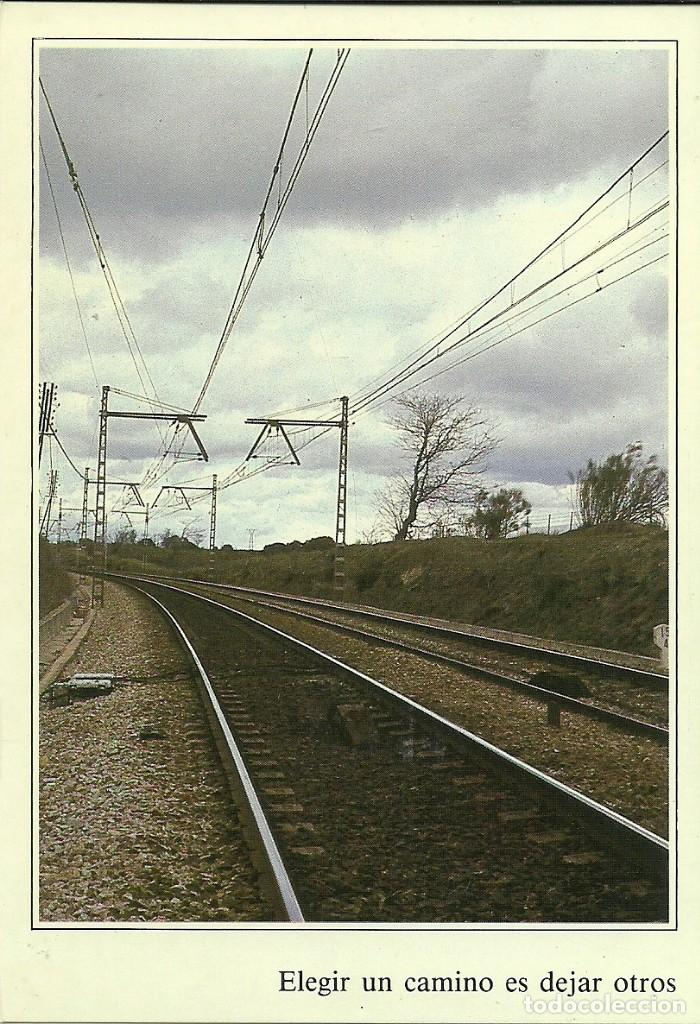 Postales: 18 postales variadas de ferrocarriles , locomotoras , estaciones , - Foto 5 - 219913526