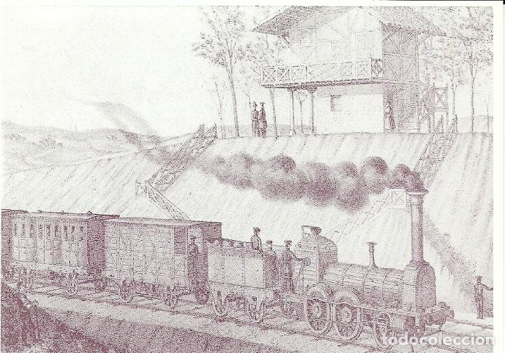 Postales: 18 postales variadas de ferrocarriles , locomotoras , estaciones , - Foto 11 - 219913526