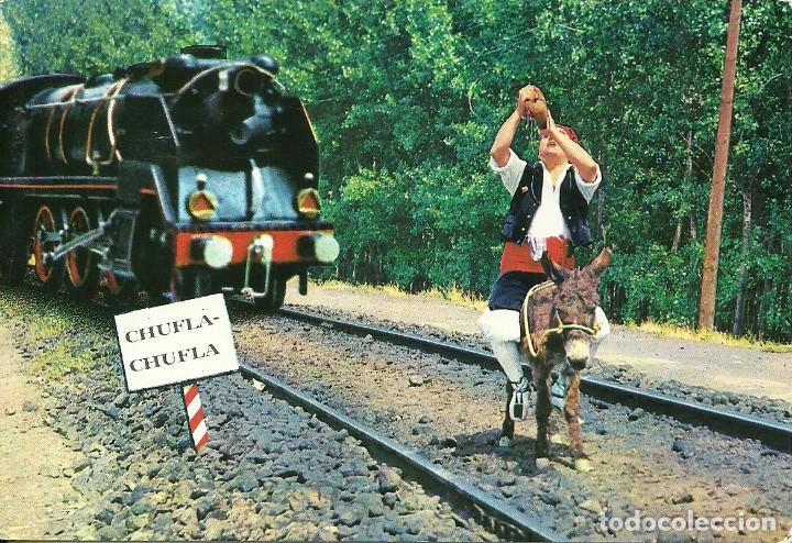 Postales: 18 postales variadas de ferrocarriles , locomotoras , estaciones , - Foto 17 - 219913526