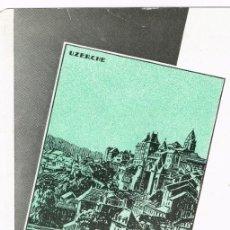 Postales: 1932 ENTRE EL LOIRA Y EL GARONA FOLLETO FERROCARRIL DE PARIS A ORLEANS 4 PÁGINAS PLEGADAS. Lote 220530346