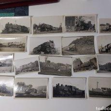 Postales: FOTOGRAFIAS DE COLECCION TRENES, TRANVIAS, TROLLEYS Y OTROS, NORTEAMERICANOS Y EUROPEOS. Lote 221170840