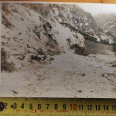 Postales: FOTOGRAFÍA DE TREN DE LOS AÑOS 1920S CATALUÑA CATALUNYA. Lote 221986351