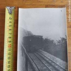 Postales: FOTOGRAFÍA DEL CREMALLERA DE MONTSERRAT DEL 1927. Lote 222041057