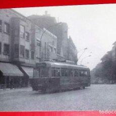 Postales: TRAMVIA DE BARCELONA. SERIE 1200. CONSTRUIT A MAQUITRANS EL 1944. PASSEIG MARAGALL ESTIU 1970.. Lote 222089802