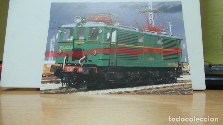 + POSTAL FERROCARRIL AZAFT LOCOMOTORA 1005 (Postales - Postales Temáticas - Trenes y Tranvías)