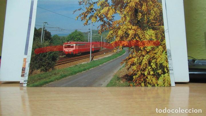 POSTAL FERROCARRIL FRANCIA REYNES AUTORAIL 4500 (Postales - Postales Temáticas - Trenes y Tranvías)