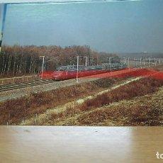 Postales: POSTAL FERROCARRIL FRANCIA TGV ATLANTIQUE MARCILLY. Lote 222093082