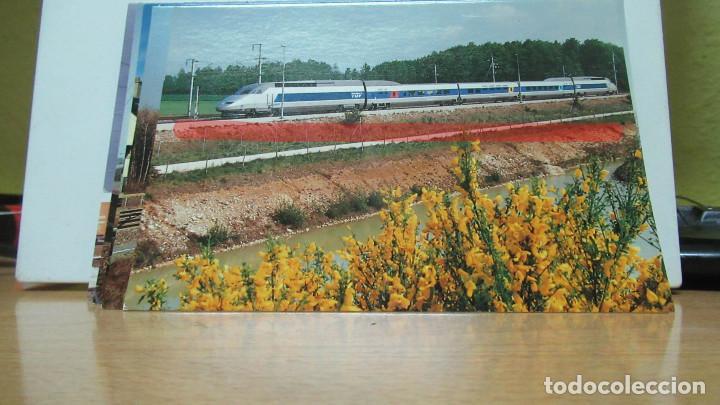 POSTAL FERROCARRIL FRANCIA TGV ATLANTIQUE DANGEAU (Postales - Postales Temáticas - Trenes y Tranvías)