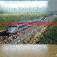Postales: POSTAL FERROCARRIL FRANCIA TGV ATLANTIQUE. Lote 222093135